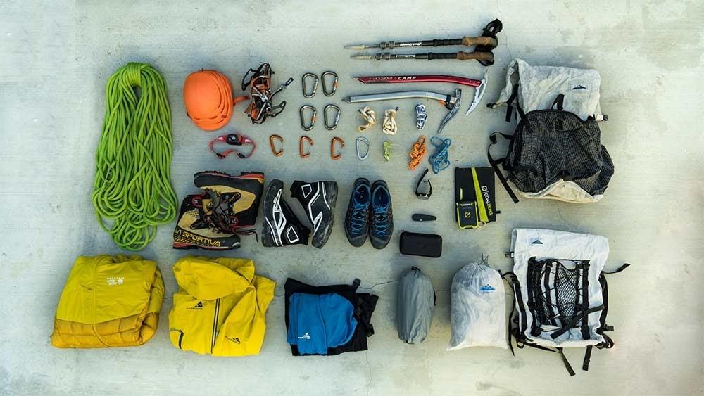 وسایل شکار و کوهنوردی