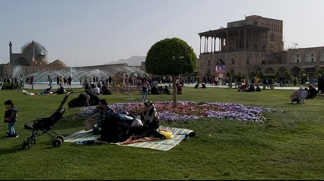 اصفهان نوروز ۱۴۰۰