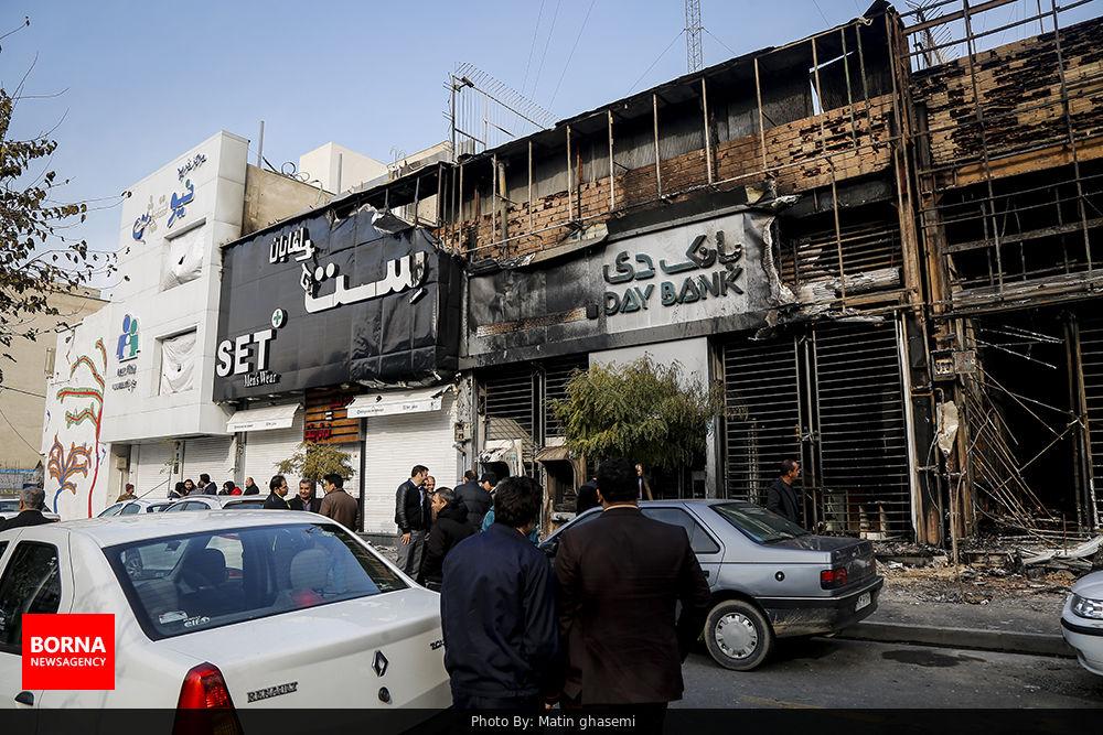 تخریب+اموال+عمومی+توسط+اشرار+در+تهران+ (5)