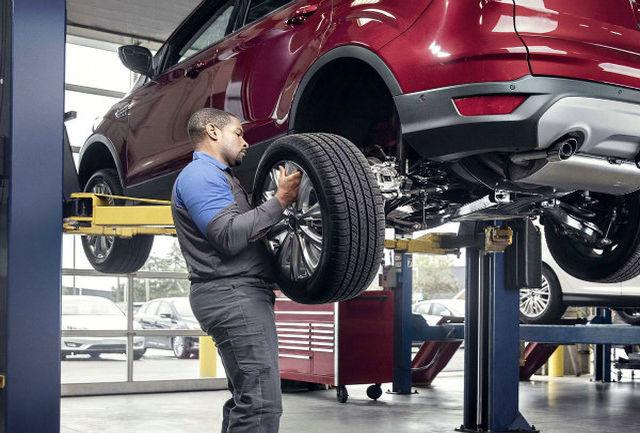 چرا باید تایرهای خودرو را جابجا کرد؟