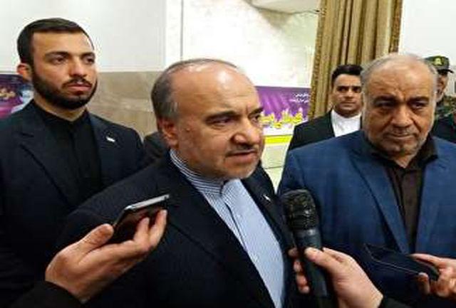 امروز صبح قصرشیرین کرمانشاه میزبان وزیر ورزش و روسای فدراسیونهاست