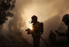آتش سوزی در مجتمع تجاری زیتون + فیلم