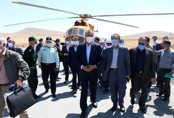 دومین روز سفر وزیر راه و شهرسازی به آذربایجانغربی