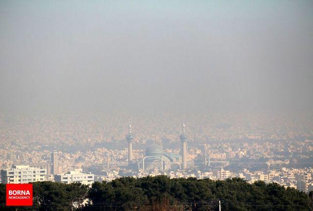 هوای اصفهان برای عموم ناسالم است