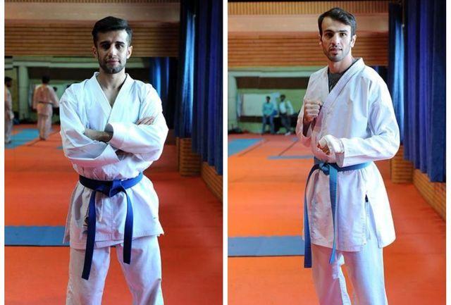 مجید حسن نیا و بهمن عسگری مدال برنز را بر گردن آویختند