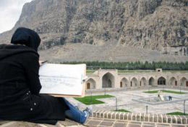 پایان سومین جشنواره هنرهای تجسمی غرب کشور در کرمانشاه