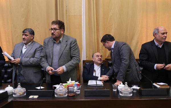 حضور مسعود سلطانی فر در جلسه فراکسیون ورزش مجلس