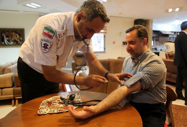 پیوستن مدیرعامل سازمان بنادر به بسیج ملی کنترل فشار خون