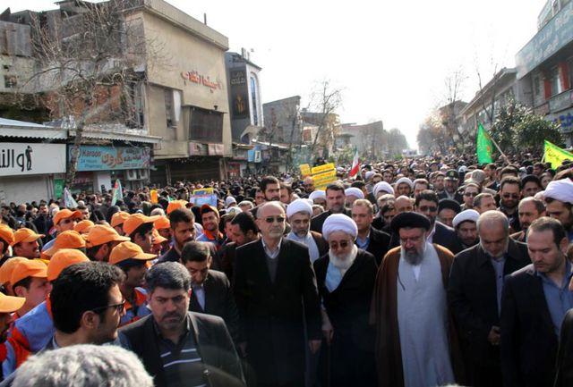راهپیمایی بزرگ 22 بهمن حمایت از استقلال،آزادی و جمهوری اسلامی ایران است