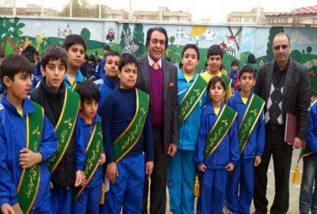 یکدوره مسابقات المپیاد ورزش دانش آموزی پسران  در شهریار برگزار شد