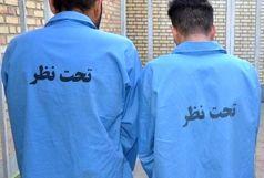 دستگیری ۲ سارق حرفهای تلفن همراه