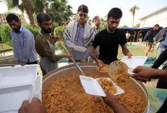 توزیع 364 هزار غذای گرم در عراق