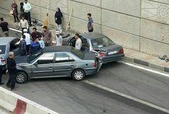 واژگونی 6 خودرو و فقط کشته شدن کودک 6 ماهه!
