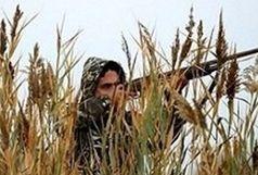 دستگیری شکارچی متخلف در منطقه ممنوعه کوه خم