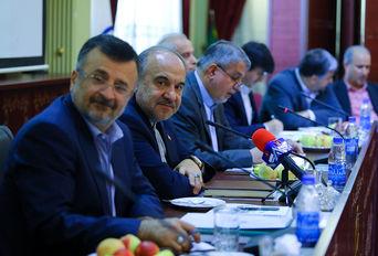 جلسه مشترک روسای فدراسیون های ورزشی و وزیر ورزش و جوانان