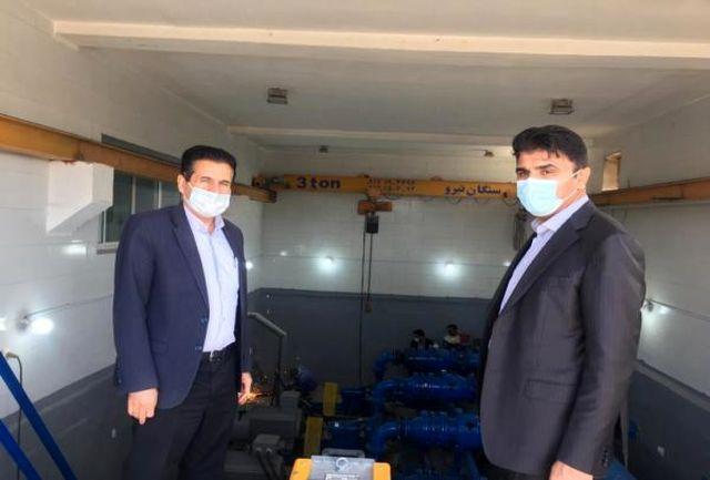 """اجرای طرح آبرسانی به ۲۴ روستای منطقه """"دژگان"""" شهرستان بندرلنگه"""
