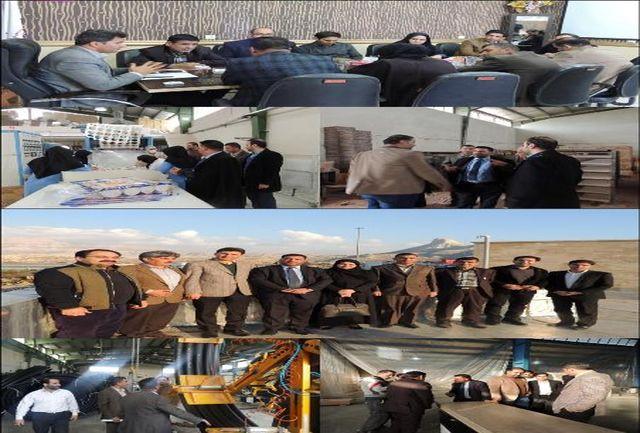 بازدید هیات سیاسی و اقتصادی استان واسط عراق از شهرک های صنعتی ایلام و ایوان