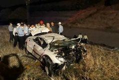 سقوط 206 در اتوبان بابایی حادثه آفرید