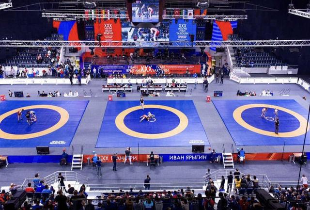 رقابتهای قهرمانی کشتی آزاد برگزار میشود