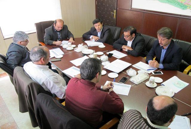 جلسه کمیسیون ماده 5 ویژه شهرهای زنجان-ابهر-هیدج و صائین قلعه برگزار شد