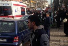 ورود سارق مسلح به یکی از ساختمان های خیابان بیستون رشت