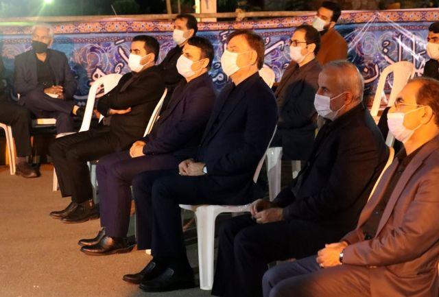 حضور استاندار گیلان در مراسم احیاء شب قدر و شهادت امام علی (ع)