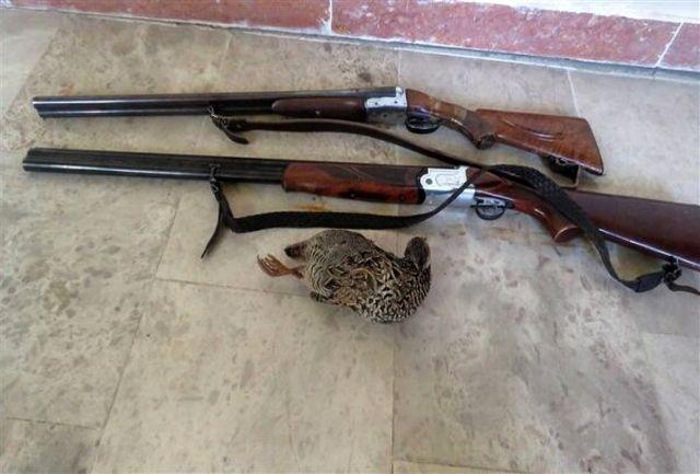 بازداشت متخلفان شکار غیرمجاز پرنده در خوسف
