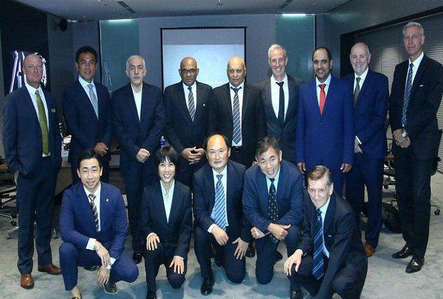 حضور دادکان در نشست کمیته جوانان آسیا