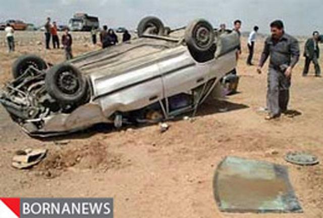 یك كشته و 2 مجروح در برخورد مگان با المان بوستان ملی باراجین