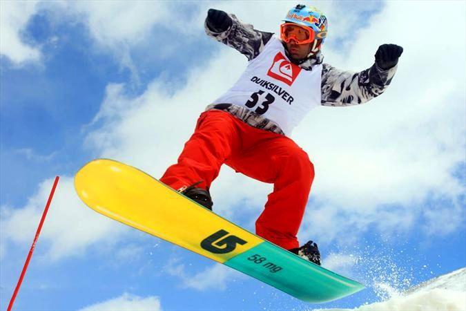 هنرنمایی اسنوبرد سواران در بازیهای المپیک زمستانی/ ببینید