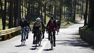 حضور بانوان رکابزن کشورمان در مسابقه تایوآن چین