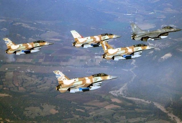 حمله جنگنده و تانک های رژیم صهیونیستی به غزه