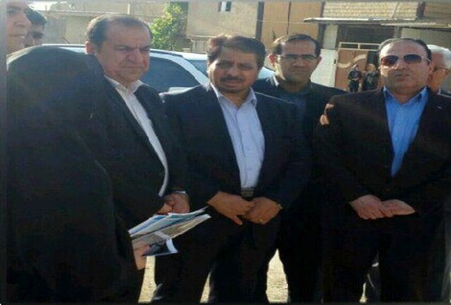 بازدید معاون حقوق بشر وزیر دادگستری از منطقه «بانبرز» و پایگاه خدمات اجتماعی شهر ایلام