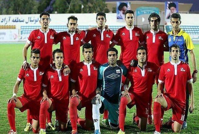 رقابت تیم فوتبال ناشنوایان ایران و مالزی در نخستین دیدار انتخابی المپیک