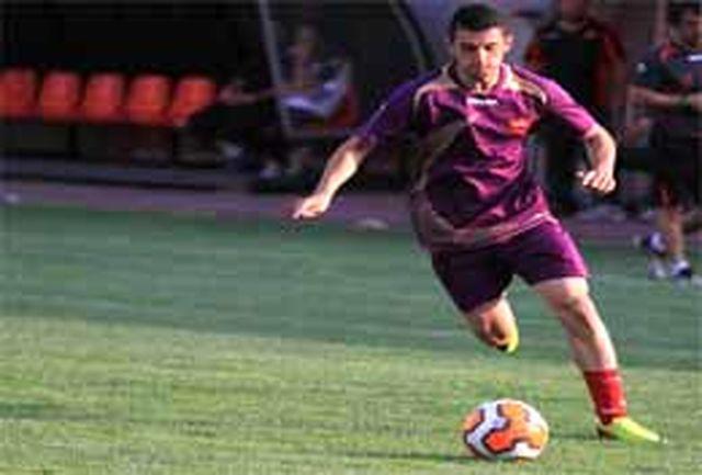 علی آستانی فوتبالیست سرعینی با پرسپولیس قرارداد بست