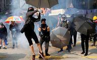 از سرگیری اعتراضات در هنگ کنگ و درگیری پلیس با شورشیان