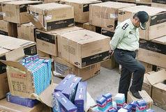 کشف انبار 10 میلیارد ریالی کالای قاچاق در اصفهان