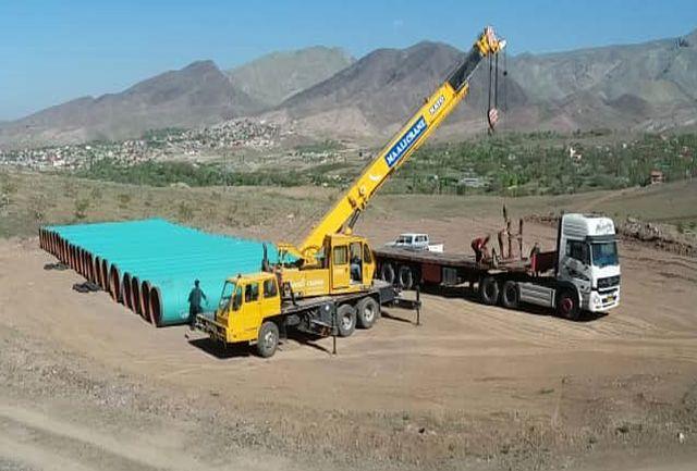 اجرای خط انتقال آب از سد طالقان به آبیک سرعت می گیرد
