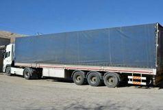 توقیف سه دستگاه کامیون درآزاد راه خرم -زال
