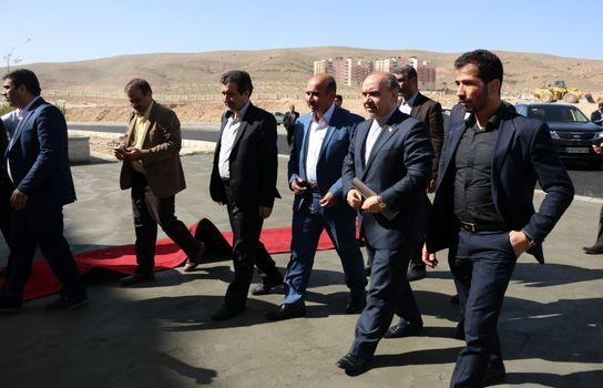 افتتاح ورزشگاه پارس شیراز