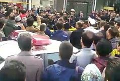 سارق مسلح خیابان بیستون  رشت دستگیر شد