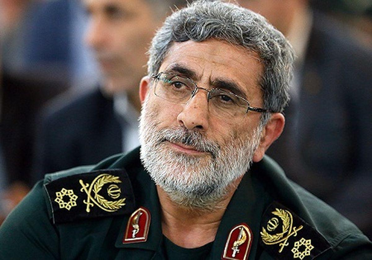 پیام تسلیت کمیته حمایت از انقلاب مردم فلسطین به سردار قاآنی