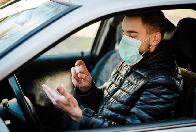 ذرات کرونا در هوای خودرو تنها در ۱۵ دقیقه به بالاترین سطح میرسند