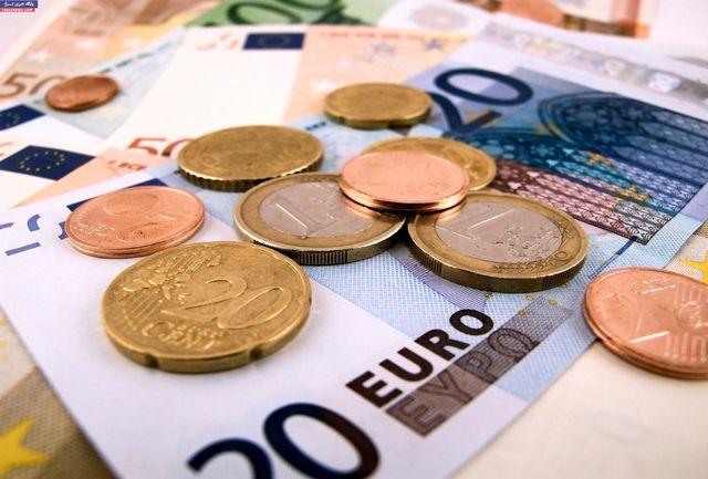 ارزش پوند و یورو کاهش یافت