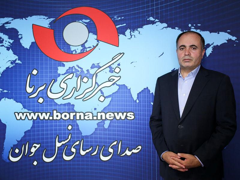 حضور نماینده بستان آباد در خبرگزاری برنا