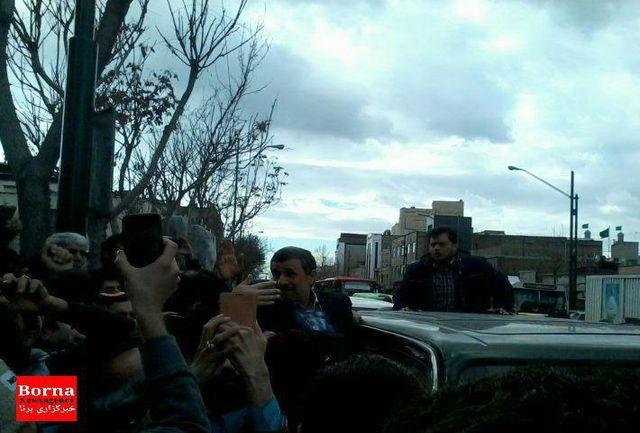 ممانعت از ورود احمدینژاد به دادگاه بقایی/حمله مجدد به قوه قضاییه