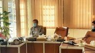 نشست مشترک مدیر مرکزهمایش های بین المللی  با فرماندار شمیرانات