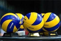 قزوین میزبان والیبال دسته یک نوجوانان