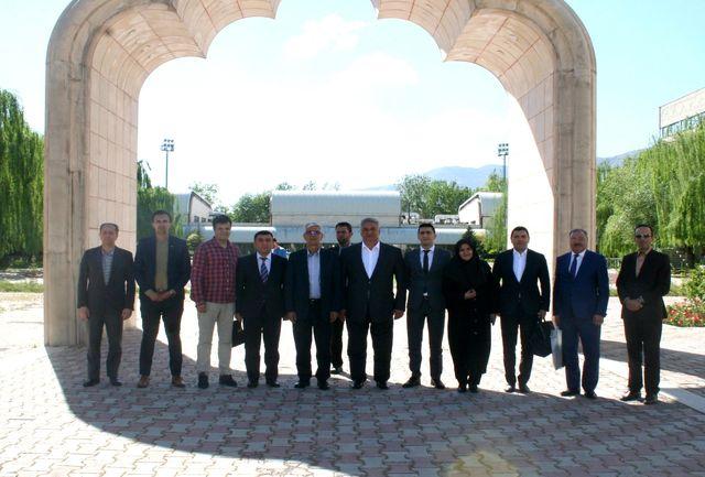 بازدید وزیر جوانان و ورزش جمهوری آذربایجان از آکادمی ملی المپیک