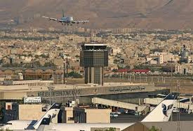 نقص فنی هواپیما در فرودگاه مهرآباد